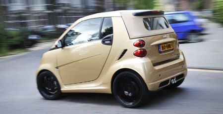 smart fortwo edtion ten gold