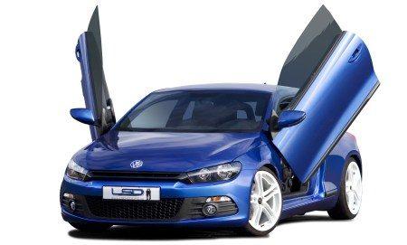 VW Scirocco met vleugeltjes