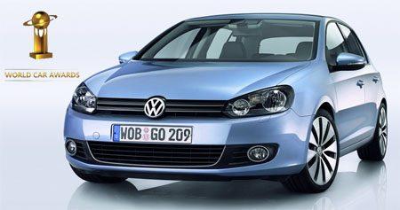 Volkswagen Golf VI is WCOTY