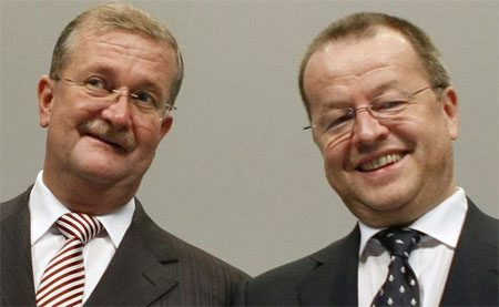 Wendelin Wiedeking & Holger Härter