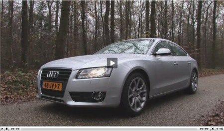 Audi A5 Sportback video