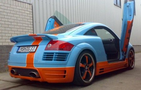 Audi TT Gulf