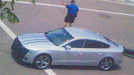 Audi A5 Sportback spyshot