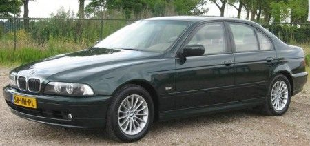 BMW 540i van Holleeder