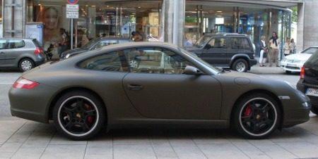Gespot Mat Groene Porsche 997 Carrera S Autoblog Nl