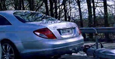 Mercedes CL500 met sleurhut