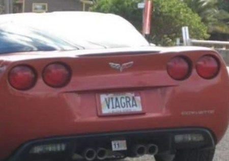 Vanity plate