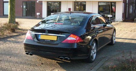 Tom Coronels CLS 63 AMG