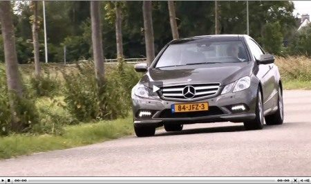 Mercedes E-klasse coupe video