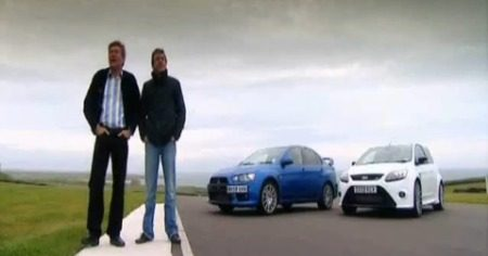 Focus RS vs Evo X