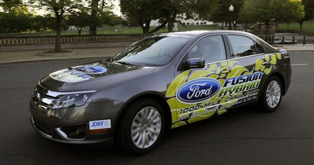 Ford Fusion Hybrid record