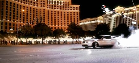 Ford Mustang in Las Vegas