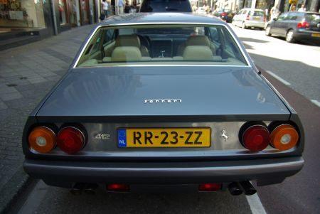 Ferrari 412 - foto Jim Appelmelk