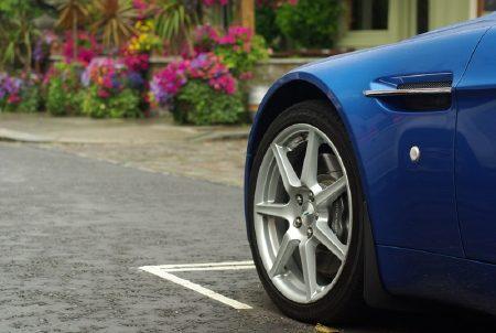 Aston-Martin AMV8 Roadster - Foto Jim Appelmelk