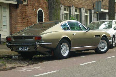 Aston-Martin V8 - Foto Jim Appelmelk