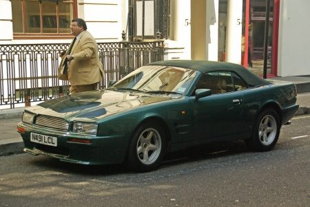 Aston-Martin Virage Volante - Foto Jim Appelmelk