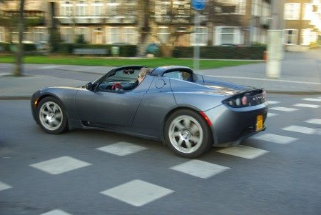 Tesla Roadster - Foto Jim Appelmelk