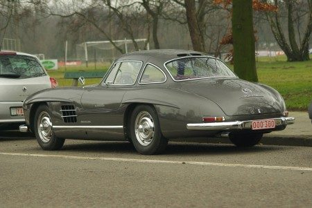 Mercedes-Benz 300SL Gullwing - Foto Jim Appelmelk
