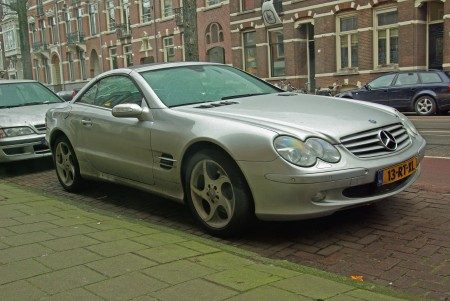 Mercedes SL500 Edition 50 - Foto Jim Appelmelk