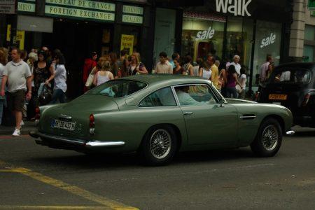 Aston Martin DB5 - Foto Jim Appelmelk
