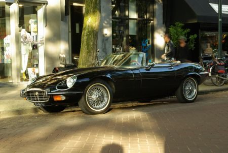 Jaguar E-Type V12 Roadster - Foto Jim Appelmelk