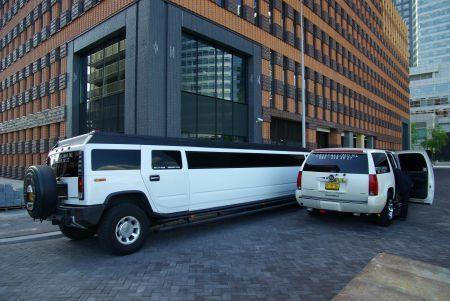 Hummer H2 Limousine - Foto Jim Appelmelk