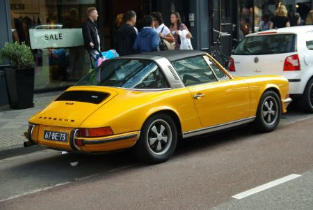 Porsche 911S 2.4 Targa - Foto Jim Appelmelk