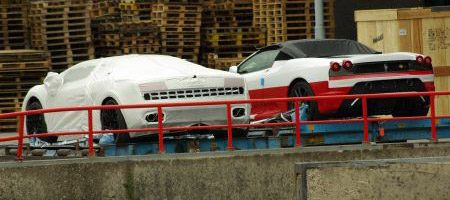 Lamborghini Gallardo LP560-4 en Ferrari 430 Scuderia 16M Spider - Foto Jim Appelmelk