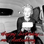Happy birthday... mr. Autoblog