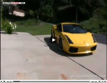 Lamborghini Gallardo Heffner video