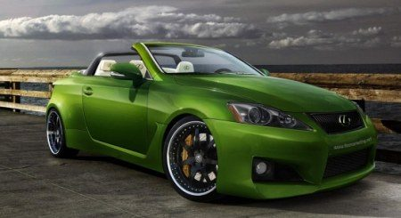Lexus IS-F cabriolet Fox Marketing