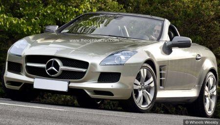 Mercedes SLK Impressie
