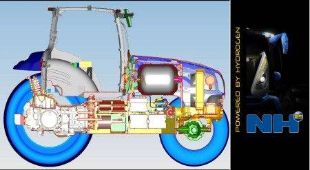 Waterstof tractor technologie