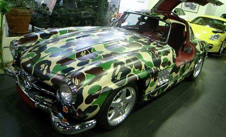 Mercedes 300 SL Gullwing van Nigo