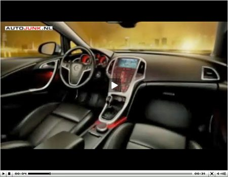 Opel Astra Interieur