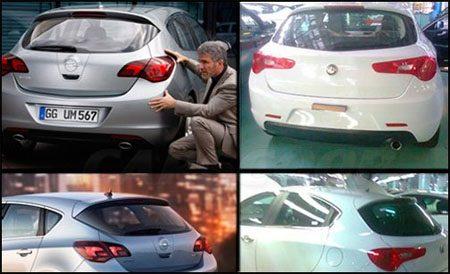 Opel Astra vs Alfa Romeo Milano