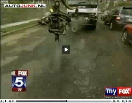 pothole video