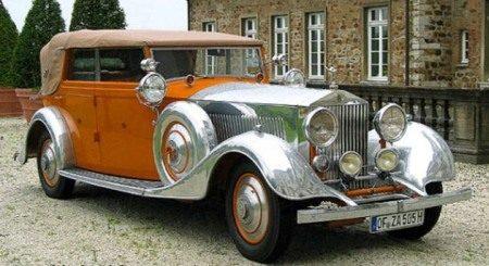Rolls-Royce Phantom II 40-50 HP Continental uit 1934