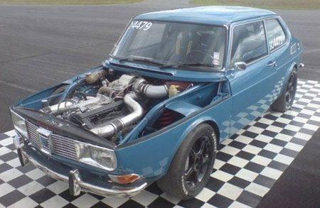 Saab 99 met 700 pk