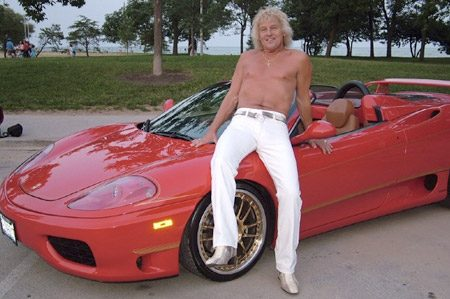 Smeerlap op Ferrari