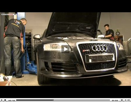 Video Audi RS6 door Essing Dieseltuning