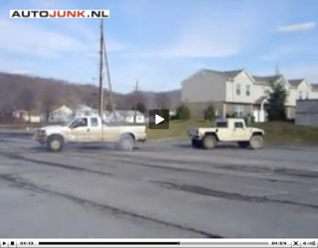 Hummer vs Ford F-250