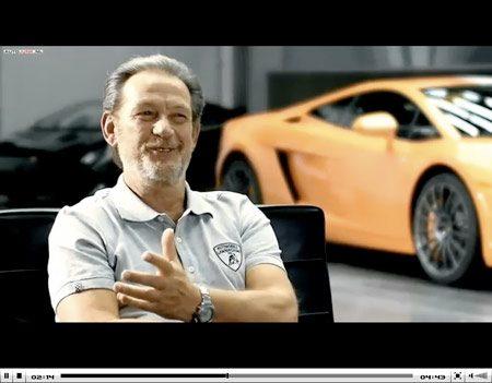 Video Lamborghini Gallardo LP550-2 Valentino Balboni