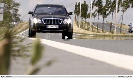Video Maybach 57 S