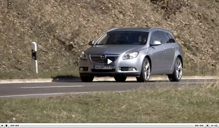 Video Opel Insignia ST