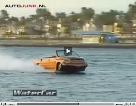 Video Watercar Python V8