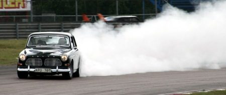 Volvo Amazon Drifting