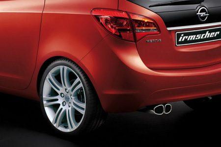 Opel Meriva door Irmscher front