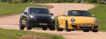 Cayenne vs. 911 Carrera 4S