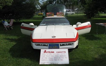 Corvette van The A-Team te koop